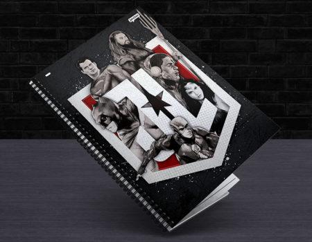 Linhas de Cadernos: Liga da Justiça – Jandaia