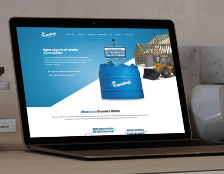 Desenvolvimento Web – Acqualimp